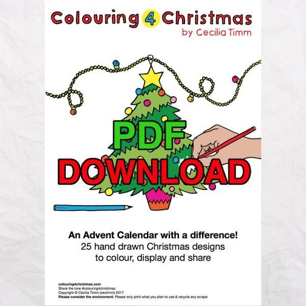 1 cectimm colouring4christmas colouring 4 christmas coloring downloadable pdf advent calendar